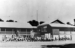 Aloomba State School Queensland, circa 1914