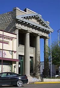 Ft stockton old bank