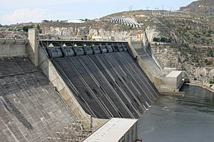 Grand Coulee Dam spillway