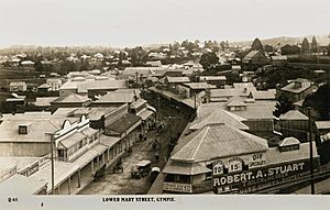 StateLibQld 1 231369 View of Gympie's streets, ca. 1925