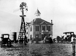 Winkler County Courthouse 1910