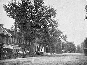 Central Square in Lebanon, Pennsylvania (1895)