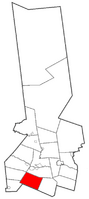 Location within Herkimer County