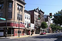 Downtown Columbia Pennsylvania