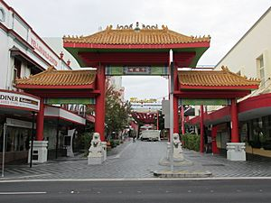 Fortitude Valley Chinatown entrance