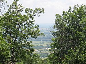 Poteau Valley From Cavanal Hill