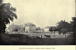 Royal Military College Great Marlow, 1810