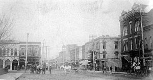 1906 Broadway Looking West, Mayfield, Kentucky