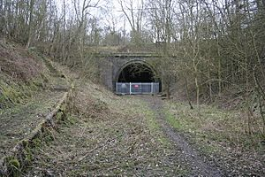 Bourne to Little Bytham Railway Tunnel Entrance - geograph.org.uk - 144617
