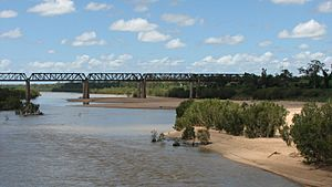 Charters Towers - Burdekin River Flows