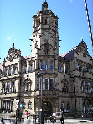 County Hall (1898), Wood Street, Wakefield