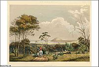 Encounter Bay by George French Angas (State Library of South Australia B15276 16)