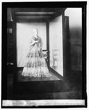 Julia Gardiner Tyler (inaugural dress from First Ladies Collection, 9-3-24) LOC npcc.12070