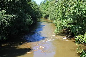 Mahanoy Creek in East Cameron Township, Northumberland County, Pennsylvania 2