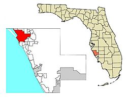 Location in Sarasota County and the U.S. state of Florida