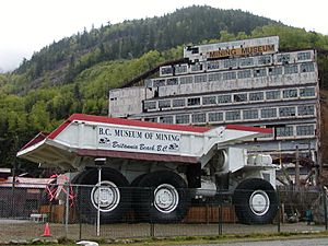 Vancouver mining truck
