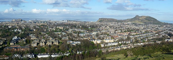 View of Edinburgh from Blackford Hill 2
