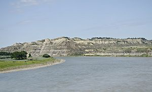Yellowstone River - Sidney Montana - 2013-07-03
