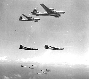 29th Bombardment Group B-29s Formation 1945