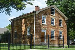 The historic Carthage Jail