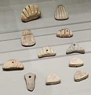 Clay accounting tokens Susa Louvre n2