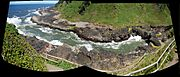 Devil's churn panorama