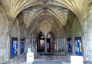 Entrance Porch to Christchurch Priory