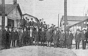 Fire Department in Keyser, West Virginia (1920)