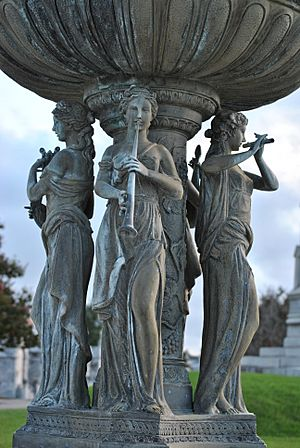 Greenwood Cemetery New Orleans Muses