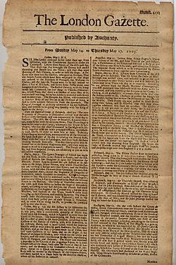 London Gazette(1705)