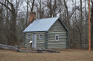 Pamunkey Indian Reservation cabin