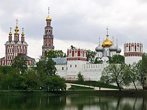 Russie - Moscou - Novodevichy 4
