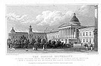The London University by Thomas Hosmer Shepherd 1827-28