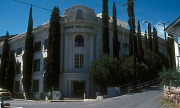 BISBEE HIGH SCHOOL