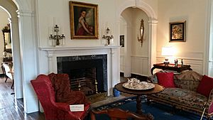 Berkeley Plantation house interior