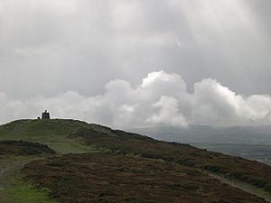 Clearing skies over St Agnes Beacon - geograph.org.uk - 69831