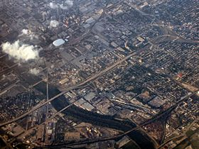 Indianapolis-indiana-from-above