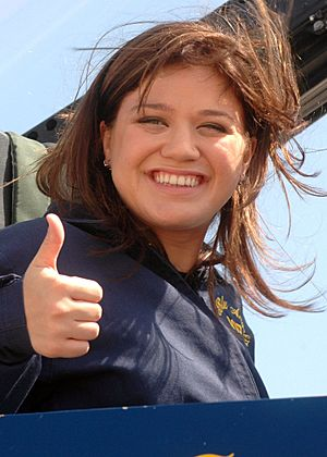 Kelly Clarkson Blue Angels