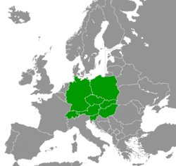 Central Europe in CIA World Factbook