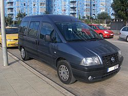 First generation Fiat Scudo