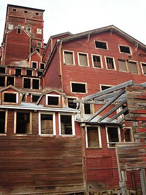 Kennecott Mill exterior