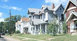 Victorian homes on Ohio State Route 800