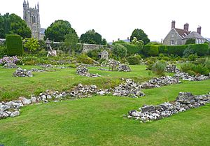 Ruins of Shaftesbury Abbey (geograph 3605823)