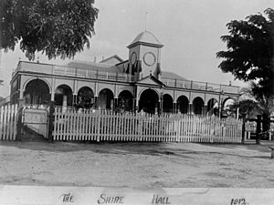 Shire Hall Barcaldine Queensland 1912