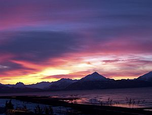Sunrise on Kachemak Bay