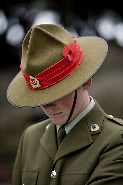 ANZAC Day service at the National War Memorial - Flickr - NZ Defence Force (2)