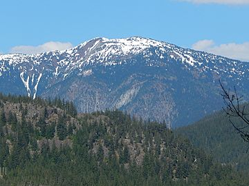 Little Jack Mountain in North Cascades mountain range seen from Highway 20.jpg