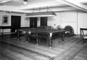 Queensland State Archives 1481 View of Government House Billiard Room 11 May 1950