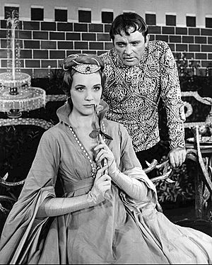Richard Burton and Julie Andrews Camelot