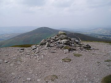 Summit cairn, Moel y Gamelin - geograph.org.uk - 206767.jpg